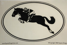 Eventer Decal - Sporthorse Design Euro Oval - NEW