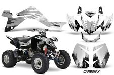 Suzuki LTZ 400 AMR Racing Graphic Kit Wrap Quad Decals ATV 2009-2012 CARBON X SV