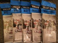 2020 TOPPS CHROME UPDATE BASEBALL FACTORY SEALED CELLO LOT OF 5 - FREE SHIPPING!