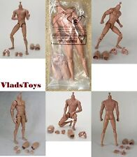 Jiaou 1/6 scale Male Nude Body (No Head) Wheaten color JOQ-JK-008 USA Dealer