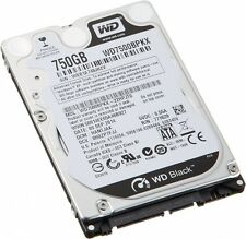 "WD BLACK 750 GB SATA 16 MB 7200 RPM 2.5"" Hard Disk disco rigido WD interno 7500BPKX"