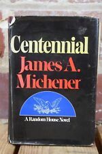 Centennial by James A. Michener Third Printing SIGNED 1974
