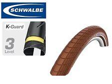 Schwalbe Big Apple 700x48 29er Slick Bike Tyre 700c Kevlar Puncture Protection Brown