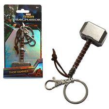 Thor Hammer Pewter NEW * Mjolnir Key Chain * Ragnarok Dark World Keychain