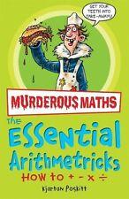 Awesome Arithmetricks: How to + - X (Murderous Maths),Kjartan Poskitt, Daniel P
