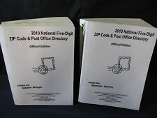 2010 National Five Digit Zip Code and Post Office Directory) (2 Volumes Set)