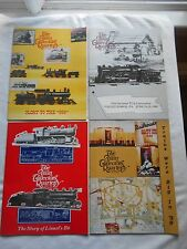 THE TRAIN COLLECTORS QUARTERLY-(MAGAZINE)-FULL YEAR-1989-4 ISSUES