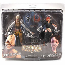 NECA BioShock 2 Crawler Splicer & Ladysmith Splicer PVC Action Figure Model Toy