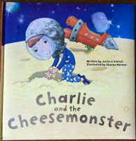 Charlie and the Cheesemonster by Justin C.H. Birch Hardback Book 2013 Childrens