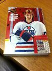 NATIONAL HOCKEY LEAGUE 1983-84 OFFICIAL RECORD BOOK WAYNE GRETZKY COVER THICK