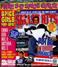 Smash Hits Take That East17 Backstreet Boys Michael Jackson Peter Andre Nov 1996
