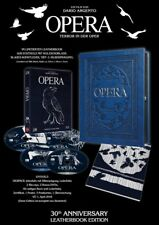 Dario Argento OPERA - 4 Disc LIMITED LEATHERBOOK EDITION BLU-RAY DVD Box Holzbox