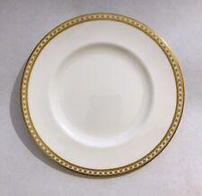 """Wedgwood Gold Ulander - 8"""" Salad / Dessert Plate - black urn mark"""