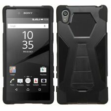 Cool Hybrid Plus Stand Protector Cover Phone Case For Sony Ericsson Xperia Z5