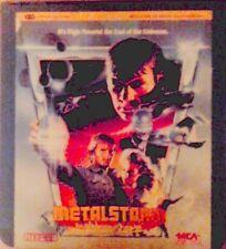 Metalstorm (1984) Ced Videodisc Ntsc