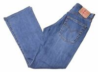 LEVI'S Mens 525 Jeans W32 L30 Blue Cotton Straight  FT06