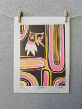Artist Linocut Mini (up to 6in.) Art Prints