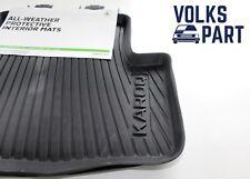 ORIGINALE Skoda karoq 2 tappeti in gomma posteriore - 57A 061 512