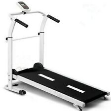 New Mini Foldable Manual Treadmill with computer