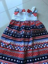 Bonnie Jean Girl's Fourth Of July Beautiful Dress ( Size: 5)
