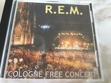 R.E.M  cologne free concert 2 cd set ( very rare made in italy )