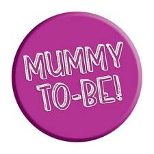 Mum To Be Badge Pin Baby Shower Gift Party Accessory Pregnancy Expecting Mummy