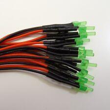 Tower LED 2mm Orange diffus langer Kopf ideal im Modellbau Stückzahl wählbar