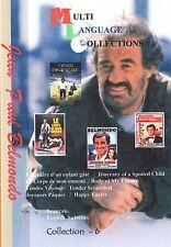 Jean-Paul Belmondo. Collection 6. Optional English Subtitles. 4 movies.
