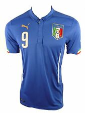 Puma Italy Home Children's Jersey Kit Size 176 Number 9 Balotelli