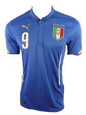 Puma Italien Home Jersey Trikot Gr.XXL Nummer 9  Balotelli