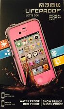 iPhone 4/4S Lifeproof Case , PINK , Authentic.
