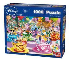 King Disney Mad Tea Cup Puzzle 1000 Pieces