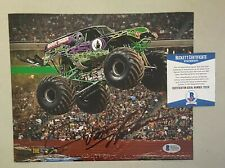 Dennis Anderson Signed 8x10 GRAVEDIGGER Photo Autographed Beckett BAS COA