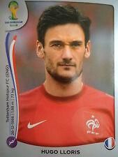 PANINI 376 Hugo Lloris Francia FIFA World Cup 2014 Brasile