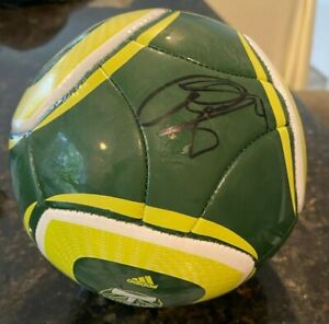 Portland Timbers Will Johnson Signed MLS Mini Soccer Ball Timber Joey Autograph