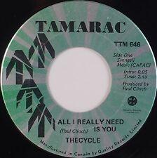 THE CYCLE: All I Really Need is You '69 Canada TAMARAC Garage 45 NM Hear!