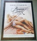 Affiche de cinéma : PREMIERS DÉSIRS de David HAMILTON - érotique