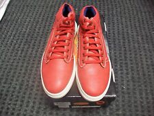 New Men's Vikings Dark Red - White Casual Sneaker Shoes Size 12 Brand New!