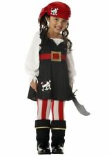California Costumes Precious Lil Pirate Costume  Toddler size Large (4-6)
