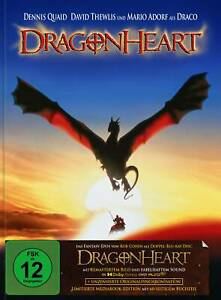 Dragonheart - Remastered Mediabook Edition (Classic Artwork) Blu-ray *NEU*OVP*
