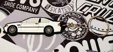 Bmw E46 M3 Key Anello White 320i 330i 330d 325i Coupe