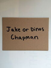 Jake & Dinos CHAPMAN, Private View Art invitation carte blanche, Cube 2011