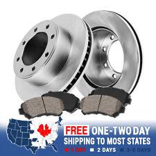 2 Platinum Hart *DRILLED /& SLOTTED* Front Disc Brake Rotors FRONT KIT 1473