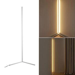 Floor Lamps Modern Remote LED Floor Lamps Corner Standing Lamp White-Dimming