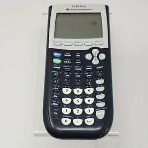 Texas Instruments TI-84 Plus Graphing Calculator - works well ~ No Cover
