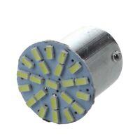 1X(10X 1156 BA15S P21W 1073 1206 SMD 22 LED Ampoule Feux Lumiere Blanc Pour V f5