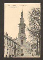 CAMBRAI (59) VILLAS & EGLISE SAINT-GERY animée en 1919