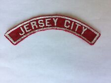 Jersey City RWS Red & White Community Strip