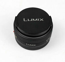 Panasonic Lumix G 14mm f/2.5 Aspherical ASPH . AF H-H014E Micro 3/4 Lens black