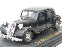 Burago Diecast 1501 Citroen 15 CV TA 1938 Black 1 24 Scale Boxed